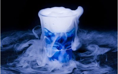 Dry Ice Smoke Bubble